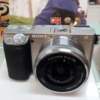 Kamera SONY Alpha 6000 PROMO Cash Back (Bisa KREDIT)