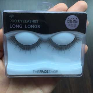 Fake Eyelashes from the Face Shop