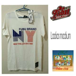 FUBU For Us By Us white tee