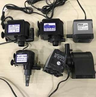 air pump & submersible pump bundle