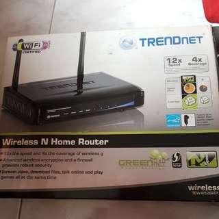 TRENDnet Wireless N Hom3 Router TEW-652BRP