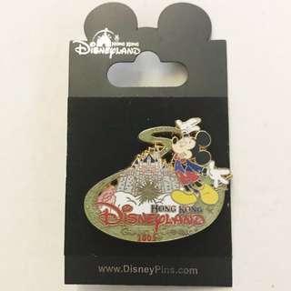 紀版香港廸士尼2005開幕紀念襟章Disney Grand Opening Pins