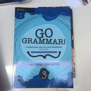 Year 8 Grammar Book