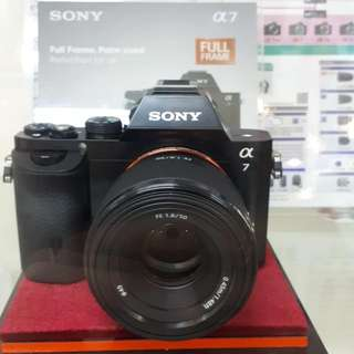 Kamera SONY Alpha 7 Cash Back 1,5 Juta (KREDIT MURAH)