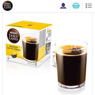 美式醇郁濃滑咖啡膠囊(16杯入)x3