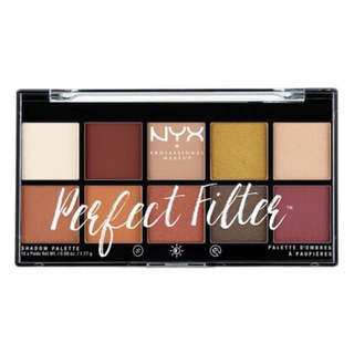 NYX Perfect Filter Palette in Rustic Antique