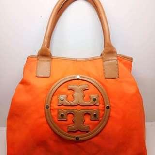 Authentic Tory Burch Nylon Stacked Orange