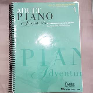Adult Piano Adventure Book
