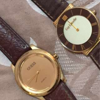 Spoilt Watches (men) - Guess and Guy Laroche!!!!!