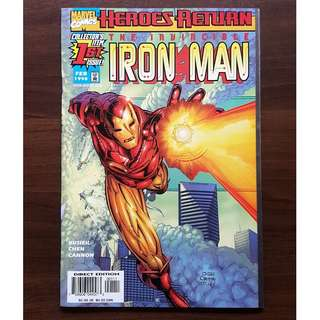 Iron Man 1 (1998) Heroes Return Tony Stark