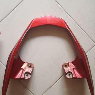 X1R Rear Red Pillion Handle Bar