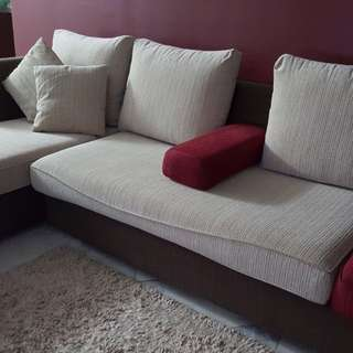Fabric L-shape sofa for sale