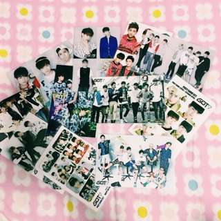 Got 7 Photocards