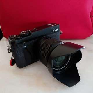 Fujifilm x-e1 blk and 16-50mm