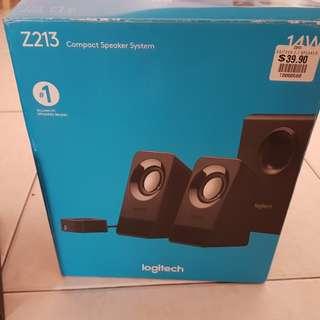 Logitech Compact Speaker System