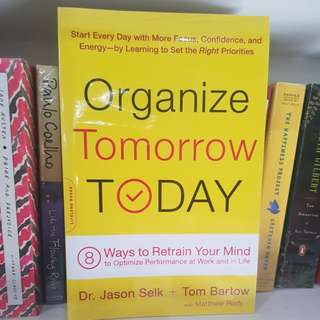 Organize Tomorrow Today