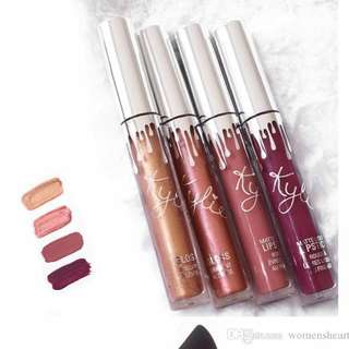 INSTOCK: Kylie Lipstick Holiday Edition Set