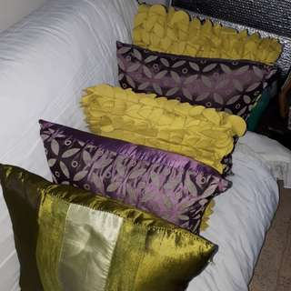 Throw Pillow 5pcs