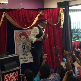 Magic shows for birthday parties
