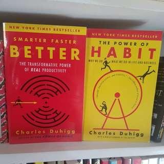 The Power of Habit & Smarter Faster Better
