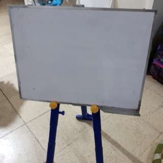 Easel with white board