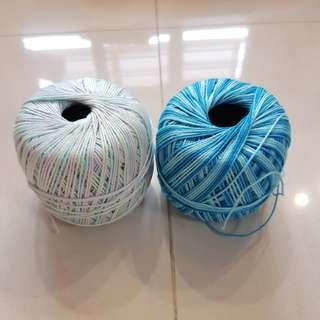Crochet lace 100% cotton yarn
