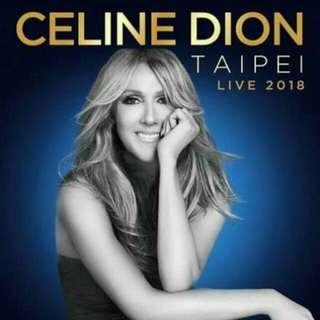 2018/7/13(五) Celine dion席琳狄翁台北演唱會*1(票價+取票費50)