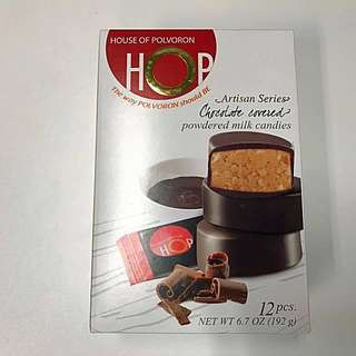 House of Polvoron Artisan Series // Chocolate covered powdered milk candies