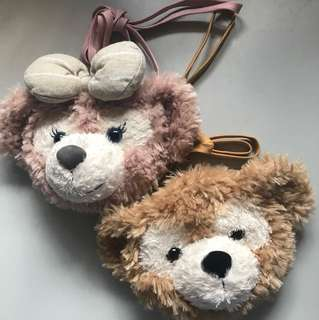 Disneysea Tokyo Duffy and Shellie May pouches