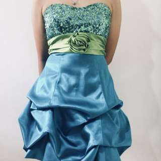 prom cocktail dress for rent