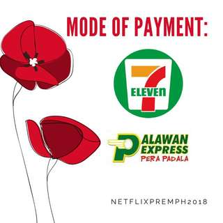 NETFLIX FOR SALE // MODE OF PAYMENT