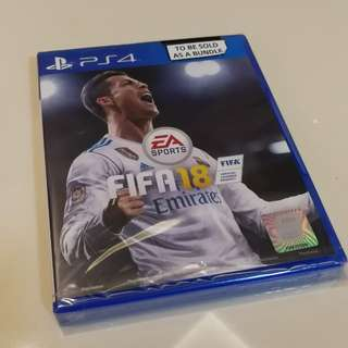 PS4 Fifa 18 Brand new unopened