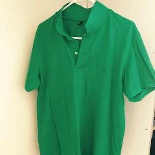 New Men's Polo Shirt - XL Benetton