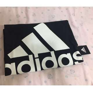 愛迪達 Adidas T 短袖 男M 黑色 Logo