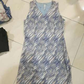 Abs Midi Dress