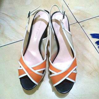 Charles n keith heels good condition