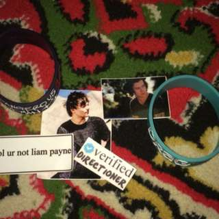 [PRELOVED] WRISTBAND ARIANA GRANDE & ONE DIRECTION WOOHOOBANDZ (free water resist sticker)
