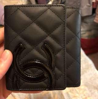 Chanel真皮銀包