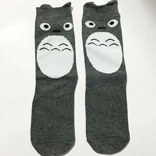 Japanese Anime Totoro Unisex Socks 4-6yr old