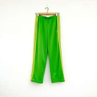 二手 綠色 彈性 運動褲