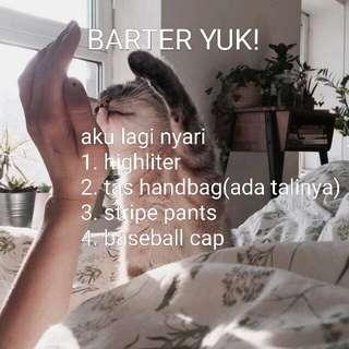 BARTER YUKKKK!