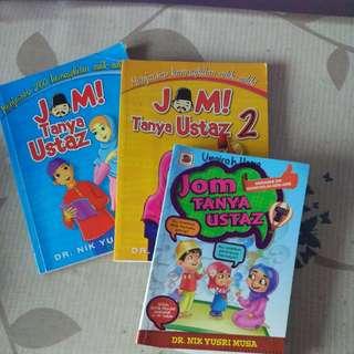 Jom Tanya Ustaz books