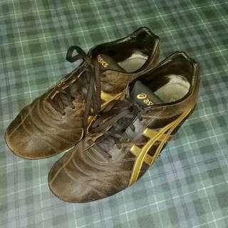 ASICS Classic Mens Onitsuka Tiger Brown & Gold, Size 10US