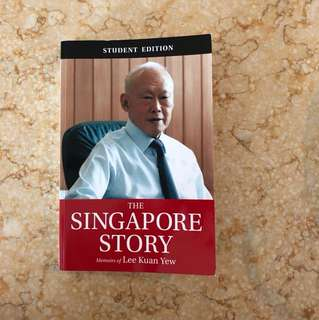 Lee kuan yew book The Singapore story