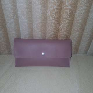 Miniso / Long Wallet / Wallet / Dompet Panjang / Dompet Wanita / Dompet Perempuan / Pink