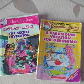 Thea/Geronimo Stilton book