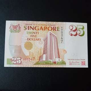 $25 Singapore Note