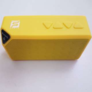Yellow Wireless Speaker