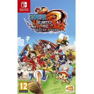 Nintendo Switch One Piece: Unlimited World Red - Deluxe Edition