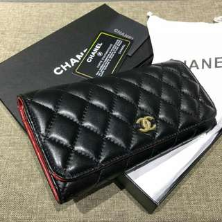 🔥 LEATHER 1:1🔥 CHANEL WALLET